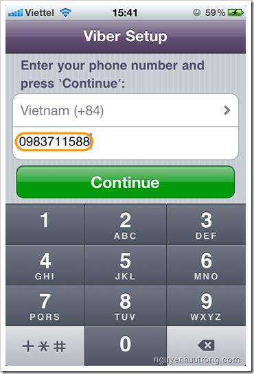 Gọi điện và nhắn tin miễn phí trên iPhone và Android với phần mềm Viber