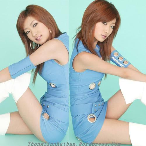 Người đẹp Sayaka Ando
