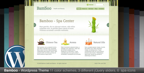 Bamboo Theme by Themeforest