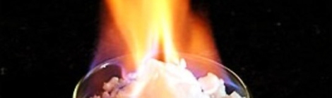 Khai thác khí đốt tự nhiên từ băng cháy
