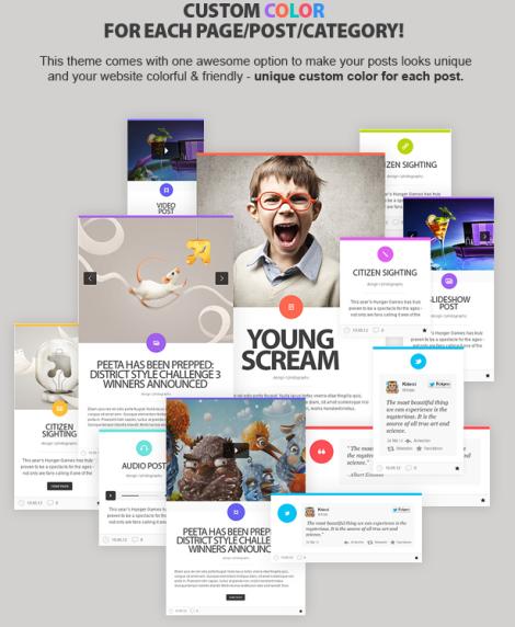 LiquidFolio Premium Portfolio WordPress Theme