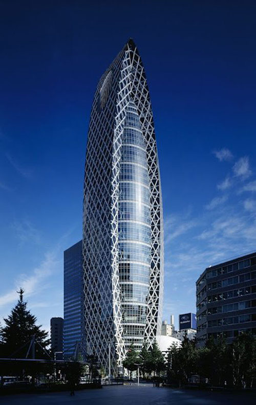 Những tòa nhà ấn tượng tại Nhật Bản