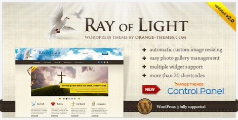 Ray of light - Religious,Church theme by ThemeForest