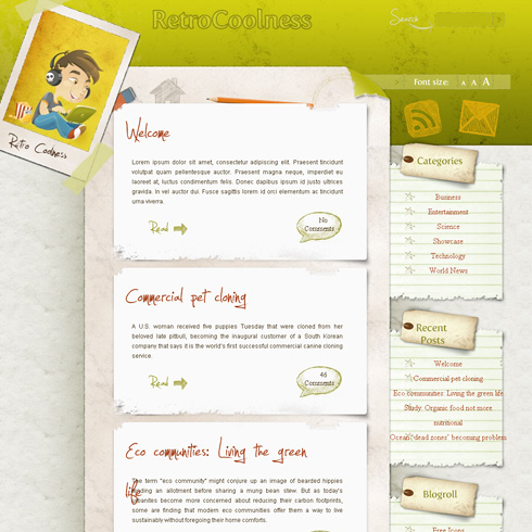 Best Free WordPress Themes Of 2012