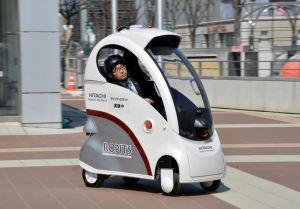Hitachi ra mắt xe điện điều khiển từ máy tính bảng