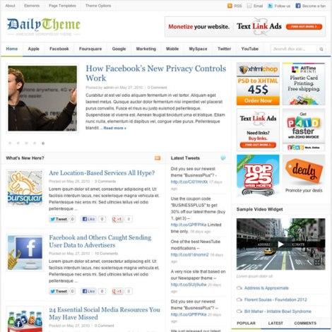 5 Wordpress Themes Tin Tức đẹp,Seo cực tốt