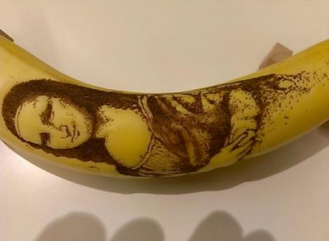 Nghệ thuật và quả chuối