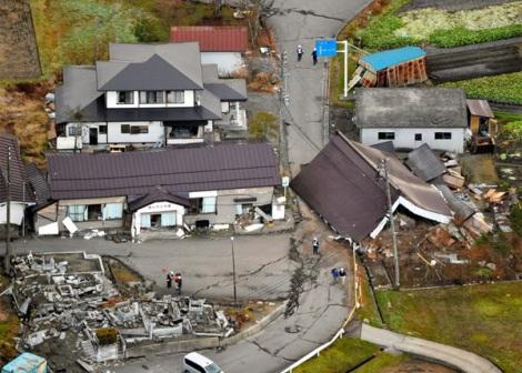 Động đất kinh hoàng tại Nhật Bản